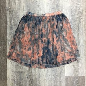 BCBGeneration pleated mini skirt, size XS.
